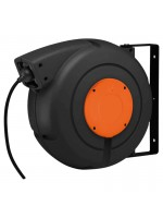 Automatic cable reel with electric cable 3G2,5 - 20 m in closed drum