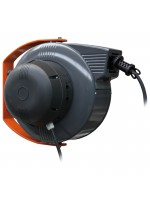 Automatic cable reel with electric cable 4G1,5 - 15 m in closed drum