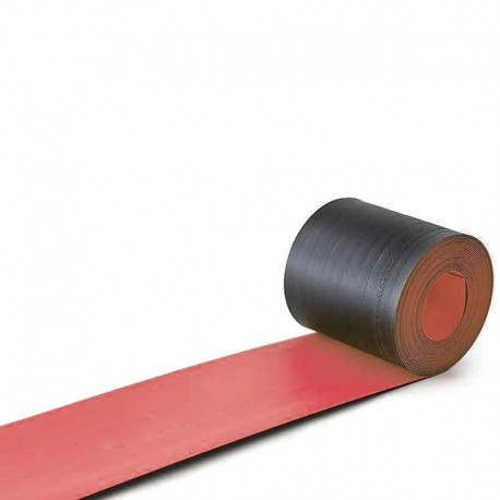 Cable Protection Cover Red Color Width 200 Mm Biname