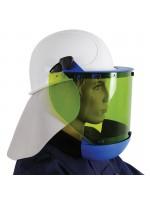 Ecran facial de protection Arcflash pour casque - ATPV 25 Cal/cm²