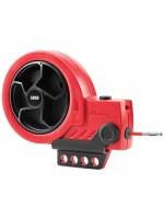 Dispositif de consignation avec câble rétractable et câble avec corps en acier