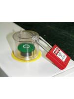 Couvercle pour bouton-poussoir et interrupteur rotatif amovible