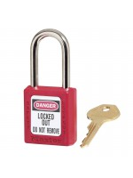 Thermoplastic Safety Padlock