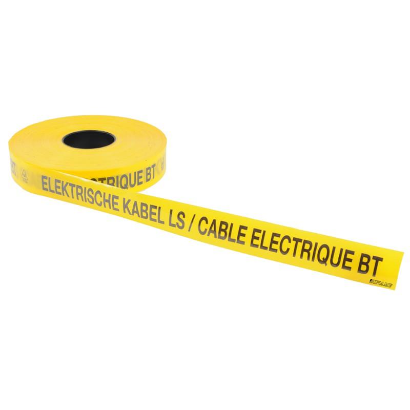 Underground warning tape Elektrische kabel LS / Cable electrique BT ...