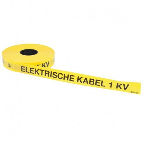 Underground warning tape Elektrische kabel 1 kV - BINAME
