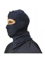 Balaclava for wearing under hard hat