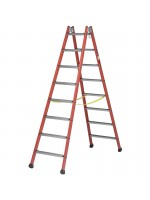 Insulating double ascents ladder
