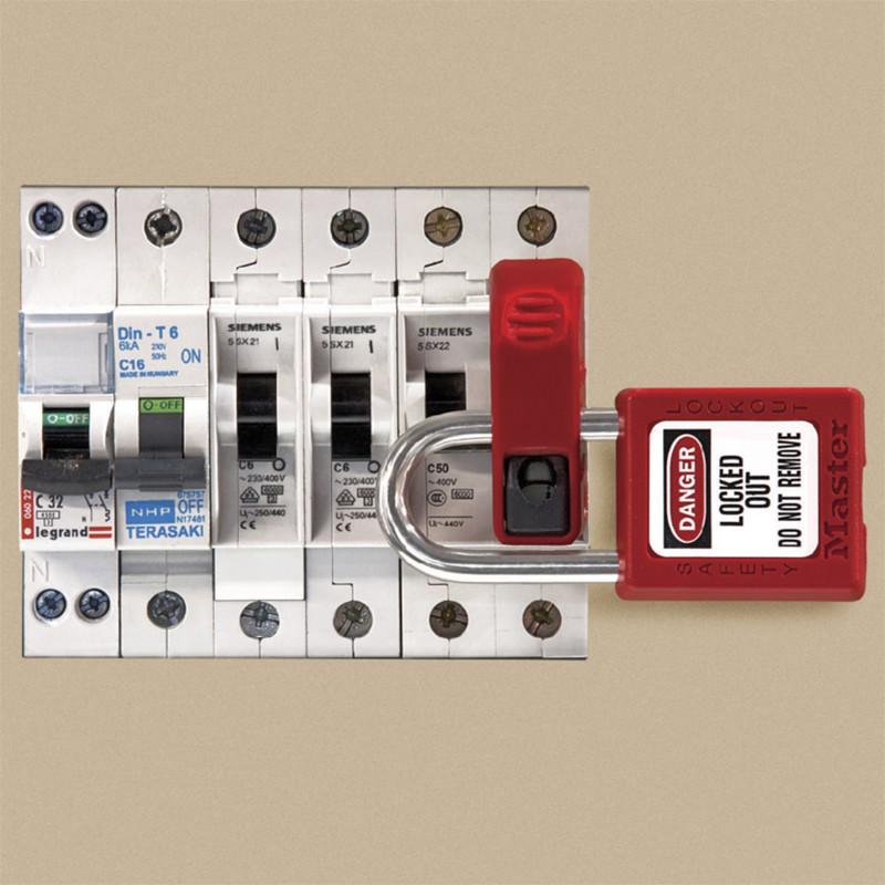 Miniature Circuit Breaker Lockout Device Biname