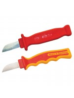 Insulated cable knife
