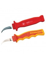 Insulated paper section knife