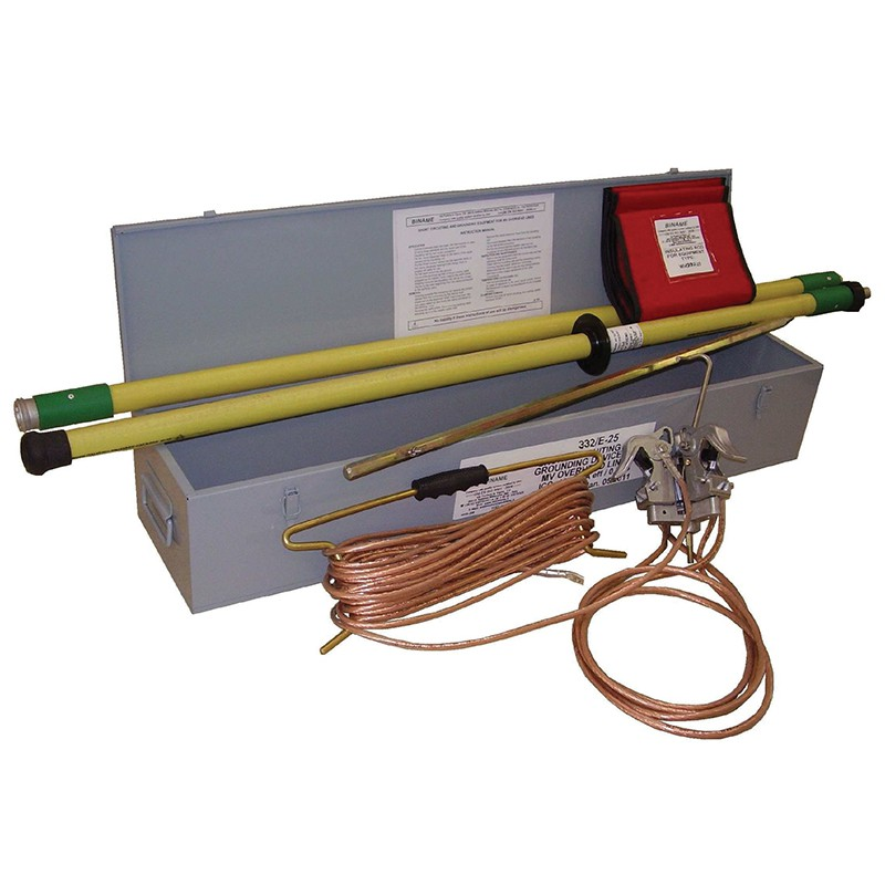 Short Circuiting And Grounding Equipment For Bare Overhead