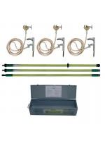 Equipement de mise en court-circuit et de mise à la terre pour lignes HT jusqu'à 400 kV