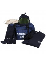 Arcflash kit with long coat and leggings HRC 4 - ATPV 40 Cal/cm²