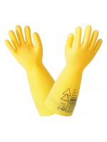 Insulating gloves Class 0 - yellow
