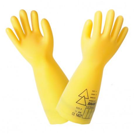 gants isolants classe 2 jaune biname. Black Bedroom Furniture Sets. Home Design Ideas