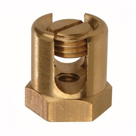 Serre-fils en laiton - pour diamètre 4 à 6 mm - M6