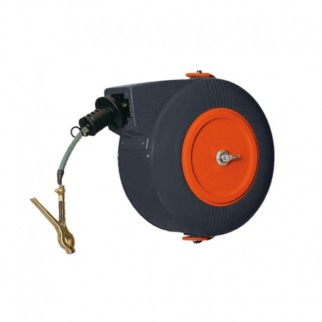 Automatic earthingreel with cable section 10 mm² 22 m long