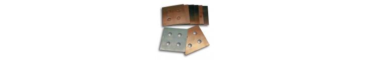 Plaquettes bi-métal