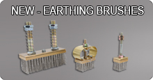 Earthing brushes